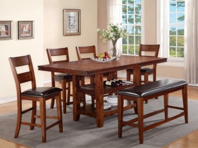 wood dining room set