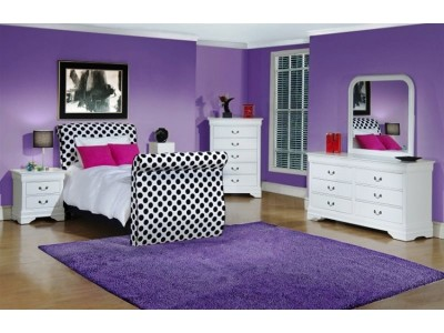 girls twin bedroom