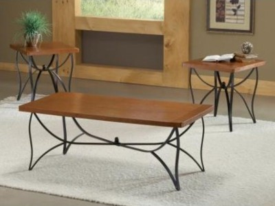 3 PC Wood & Iron Tables-3-99Fu9904LJry.jpg