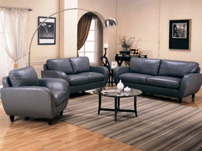 Contemporary Living Room Group in Gray-353-50Fu2362LFre.jpg