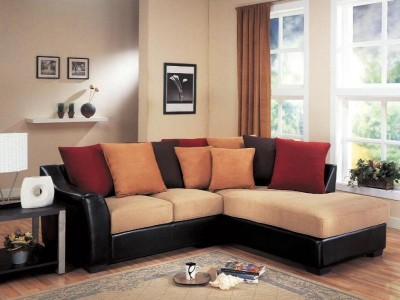 Contemporary Sectional With Assorted Throw Pillows-1514-50Fu95B1.jpg
