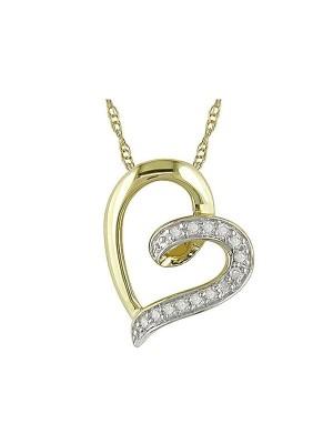 Diamond Accent 10kt Yellow Gold Heart Pendant-1211-MiJeella4.jpg