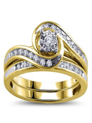Diamond Yellow Gold Bypass Bridal Ring Set-1208-diJeidal4.jpg
