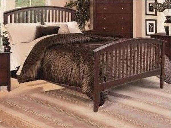 Lawson Queen Bed with Royal Heritage Mattress Set-1063-M-Fu080I3.jpg