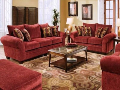 Masterpiece Burgundy Sofa and Loveseat-1296-37Fu3952.jpg