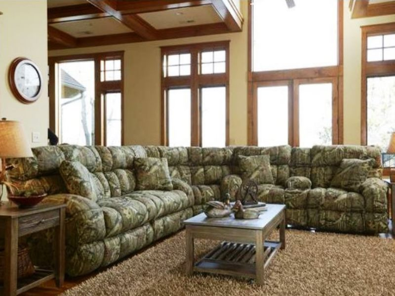 Mossy Oak Camo Sectional | The Military Club