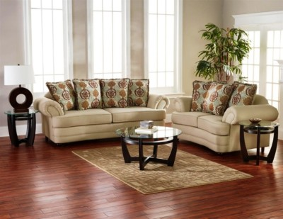 Oatmeal Sofa and Loveseat Group-1421-510021.jpg