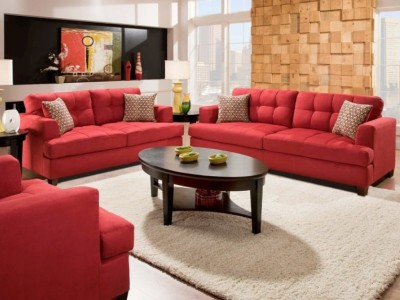 Sofa and Loveseat in Lipstick Red-210-34Fu2635LFre.jpg