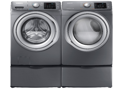 Samsung Steam HE Front Load Washer & Dryer