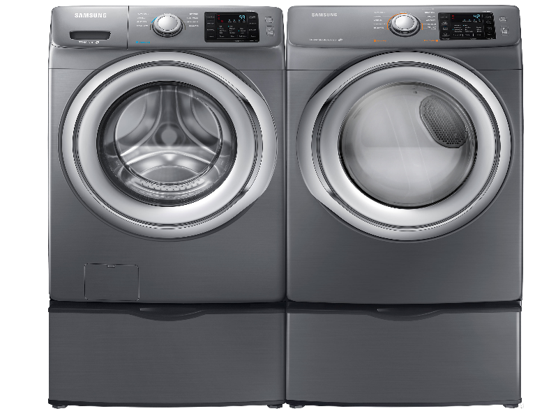 samsung steam he front load washer u0026 dryer